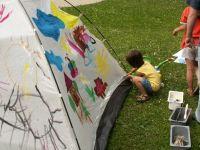 Indijanska packanka za najmlajše slikarje
